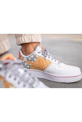 Nike Unisex Beyaz Spor Ayakkabı Aır Force 1 07ct3437 100 2