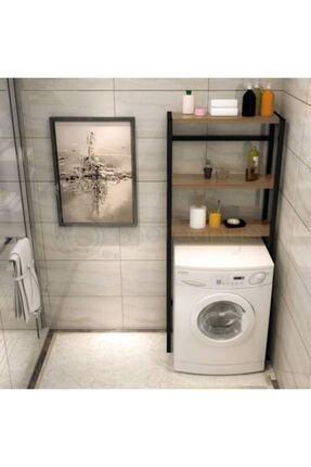 Neta Home Kahverengi Çamaşır Makinesi Üstü Düzenleyici Banyo Dolabı Makina Üstü Dolap Raf Netatrade1925 2