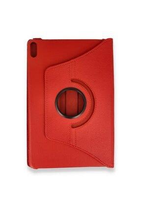 Zipax Huawei Matepad Pro Kılıf Dönebilen Standlı 360 Kılıf - Kırmızı 1