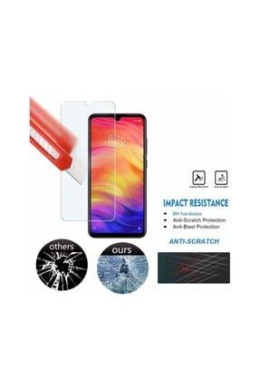Fibaks Redmi Note 8 9h Uyumlu Temperli Kırılmaz Cam Sert Şeffaf Ekran Koruyucu 3