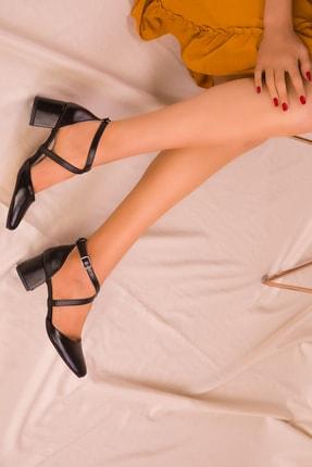 Soho Exclusive Siyah Kadın Klasik Topuklu Ayakkabı 14392 2