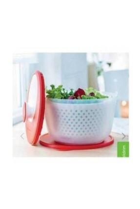 Tupperware Modern Salatacı Kırmızı 1