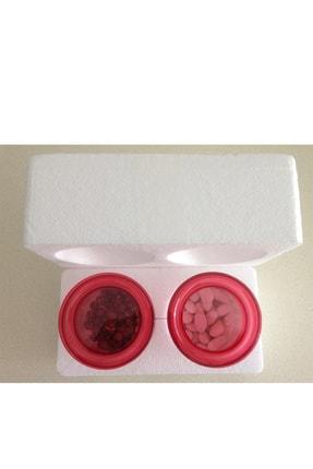 CRALEX Optima 850 ml Kırmızı Kapaklı Borosilikat Cam Kavanoz 2