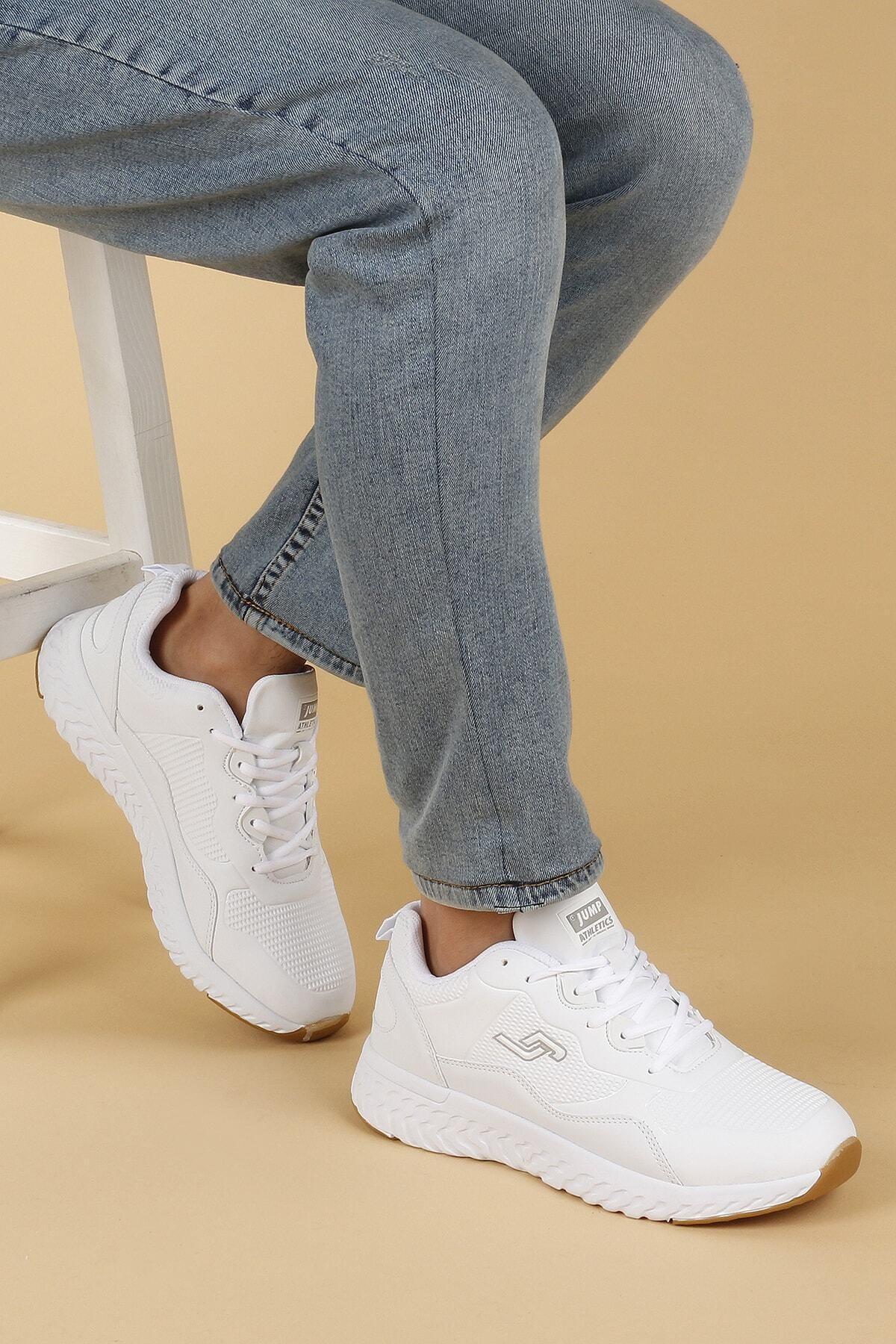 Jump Erkek Beyaz Günlük Spor Ayakkabısı 25672