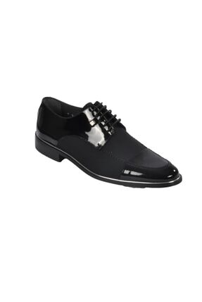 تصویر از 1128 Siyah Rugan Erkek Klasik Ayakkabı