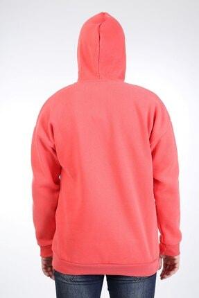 Millionaire Erkek Nar Çiçeği Kapüşonlu Oversize Sweatshirt 3