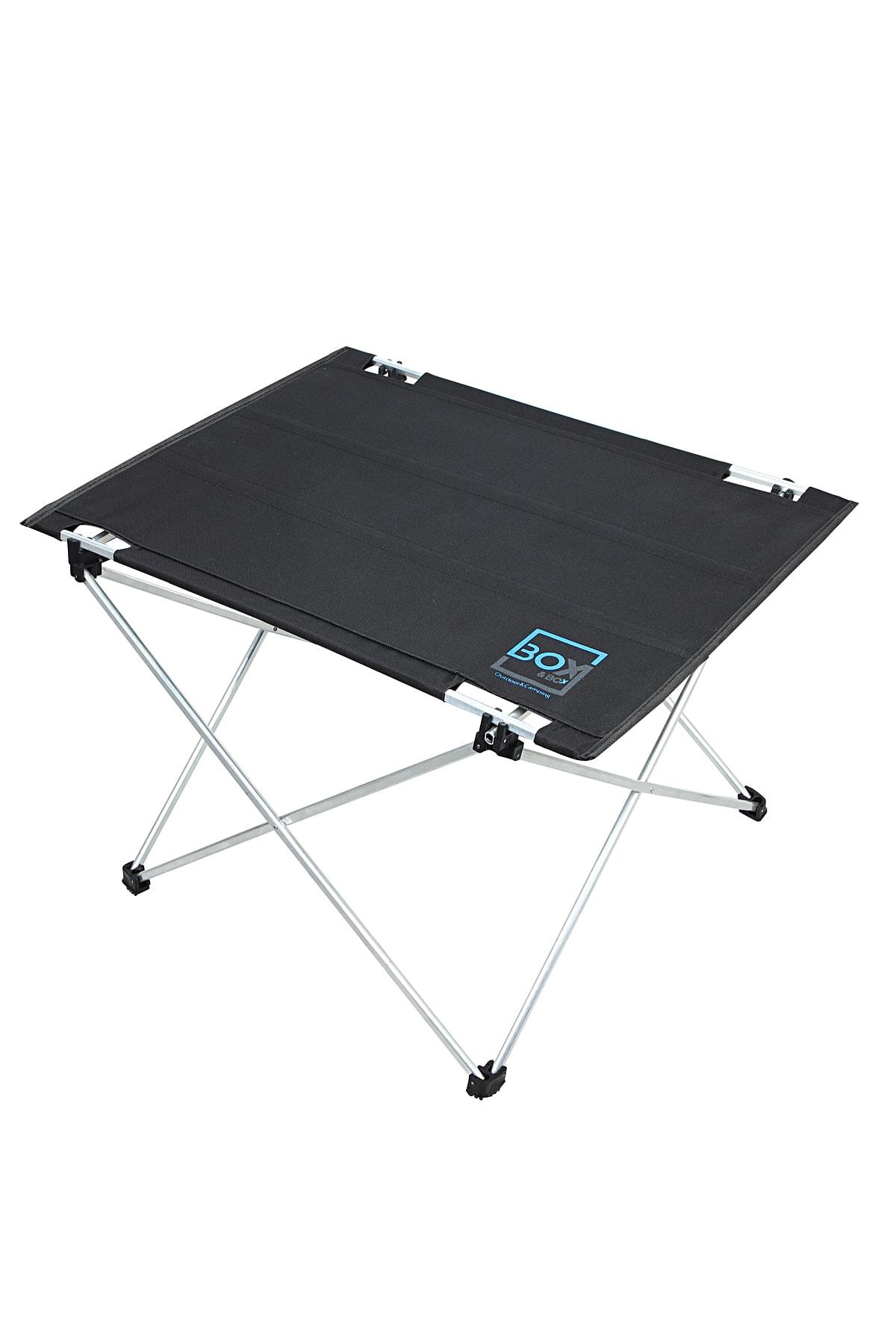Omuz Askılı, Katlanabilir Kamp Ve Piknik Masası 57x43x38 Cm