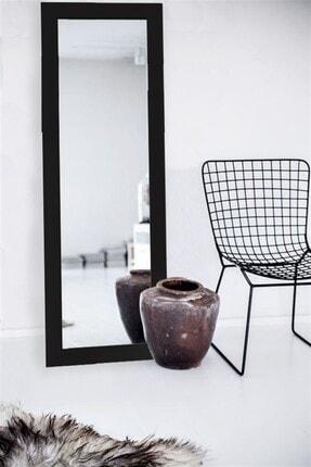Hüma's Dekoratif Retro Boy Aynası Siyah 120 X 48 Cm 1