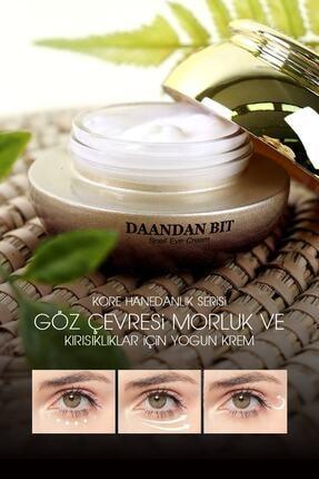 Jigott Daandanbıt Saf Salyangoz Göz Altı, Morluk, Kırışıklık Premium Göz Kremi 1