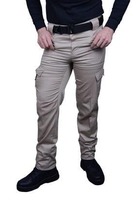Kargo Cepli Outdoor Taktik Pantolon Yazlık-Likralı kcotphaki