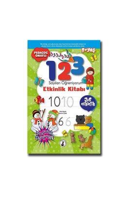 1 2 3 Sayıları Öğreniyorum Etkinlik Kitabı - 36 Etkinlik SKMSKTT7841000
