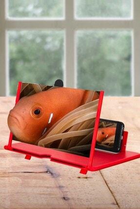Buffer Taşınabilir Göz Yormayan 3d Cep Telefonu Mobil Tablet Hd Ekran Video Büyütücü Büyüteci 3