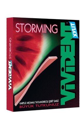 Vivident Storming Karpuz Aromalı Şekersiz Sakız 33 gr 000202