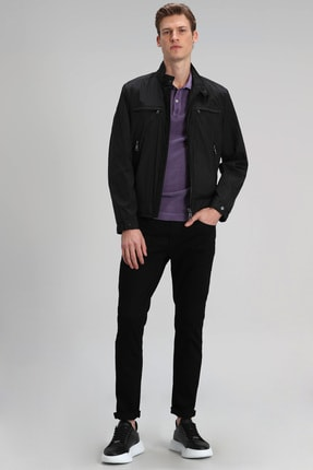 Lufian Paul Smart Jean Pantolon Slim Fit Siyah 0