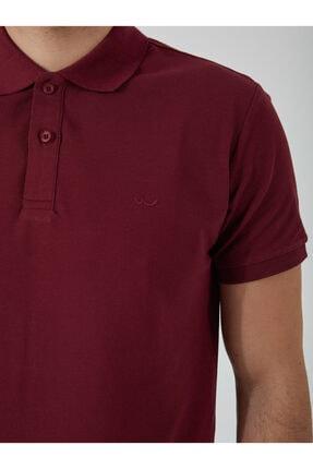 Ltb Erkek  Bordo Polo Yaka T-Shirt 012208450860890000 1