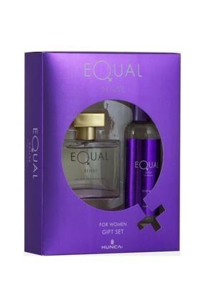 Equal Sense Edt 75 ml Kadın Parfüm Seti 0