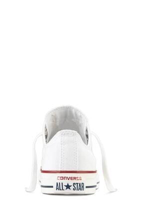 Converse Unisex Beyaz Chuck Taylor Allstar Sneaker  M7652c 3