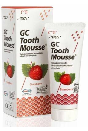 GC Tooth Mousse Çilekli 40 gr 0