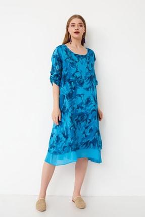 Kadın Koton Büyük Beden Elbise 202119030046-c CMN00115-C