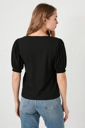 LC Waikiki Kadın Yeni Siyah Formal Bluz 2