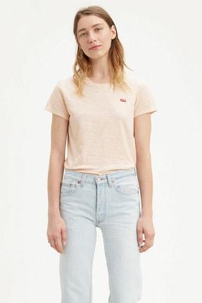Levi's Kadın Beyaz Pamuklu T-Shirt 39185-0069 0
