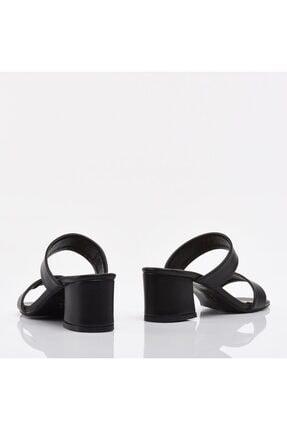 Hotiç Siyah Yaya Kadın Sandalet & Terlik 4