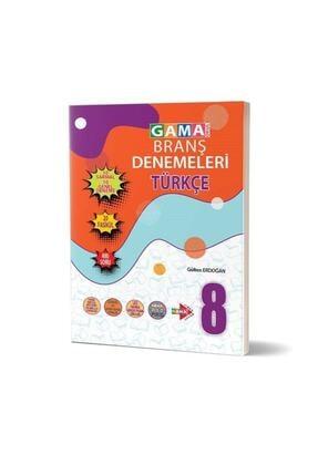Gama Basım Yayım Dağıtım Gama Yayınları 8.sınıf Türkçe Branş Denemeleri 2021 0
