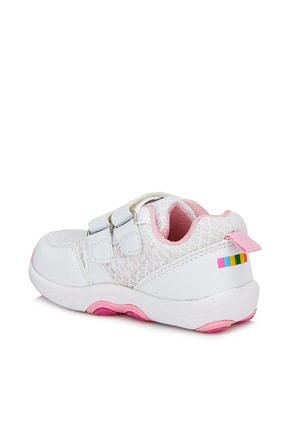 Vicco Dna Kız Bebe Beyaz Spor Ayakkabı 3