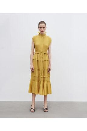 İpekyol Pilili Elbise 4
