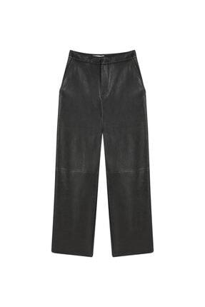 İpekyol Culotte Fit Deri Pantolon 3