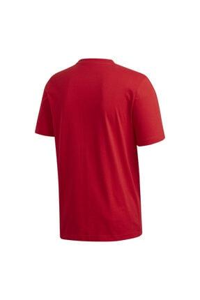 adidas Erkek Kırmızı T-shirt Fm6214 3