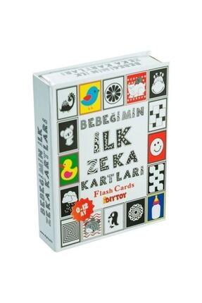 DIY Toys 4'lü Eğitim Seti ( Ilk 50 Sözcük + Ilk 50 Hayvan + Ilk 50 Sebze Meyve + Bebeğimin Ilk Zeka Kartları 3