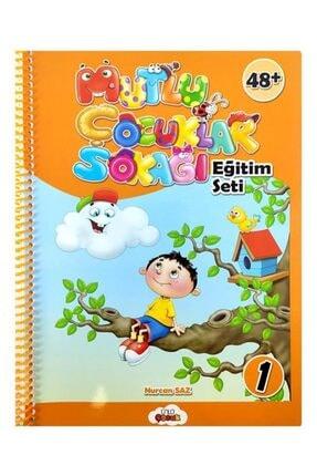 Temel 4 Yaş Mutlu Çocuklar Sokağı Okul Öncesi Eğitim Seti 1