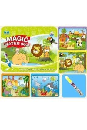Magic Water Sihirli Boyama Kitabı Water Painting Intimate Sulu Boya Orman Diyarı Hayvanlar 2