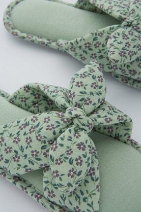 Penti Kadın Mint Yeşili Ditsy Garden Terlik 1