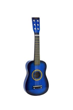 PM Mavi Çocuk Gitar 3-4 Yaş İçin Kılıf Ve Pena 2