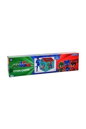 Mega Yeşil Pijamask Çocuk Oyun Çadırı 0