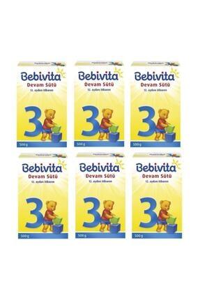 Bebivita 3 Devam Sütü 500 gr X 6 Adet 0