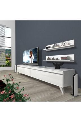 Decoraktiv Eko 4 Mdf Std Retro Tv Ünitesi Tv Sehpası 0