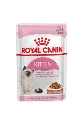 Royal Canin Gravy Kitten Instinctive Yaş Yavru Kedi Maması 85 g 0