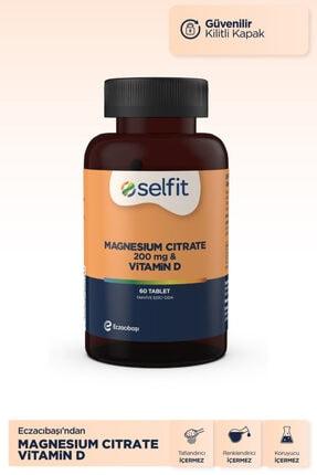 Eczacıbaşı Selfit Magnesium Citrate 200 Mg & D3 Vitamin 60 Tablet 1
