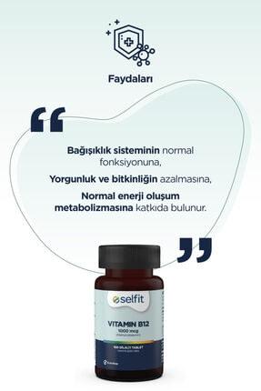 Eczacıbaşı Selfit B12 Vitamin 1000 Mcg 100 Dilaltı Tablet 4