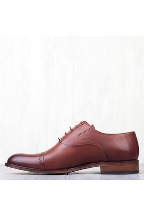 MARCOMEN Kahve Hakiki Deri Bağcıklı Erkek Klasik Ayakkabı • A19eymcm0022 2