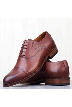 MARCOMEN Kahve Hakiki Deri Bağcıklı Erkek Klasik Ayakkabı • A19eymcm0022 3