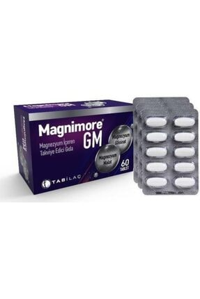 Tab İlaç Magnimore Gm 60 Tablet 0