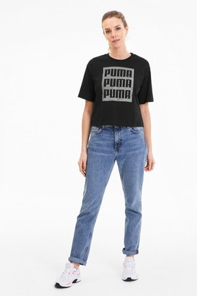 Puma Kadın Spor Sweatshirt - SUMMER PRINT Graphic - 58416901 3