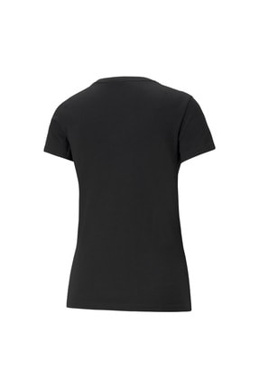 Puma Kadın Siyah Baskılı T-shirt 1