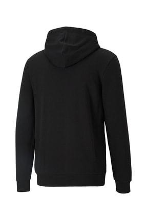 Puma ESS BIG LOGO HOODIE TR Siyah Erkek Sweatshirt 101085575 1
