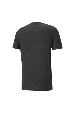 Puma ESS HEATHER TEE Gri Erkek T-Shirt 101085581 1