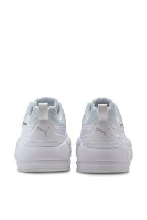 Puma Unisex Spor Ayakkabı - Beyaz 4